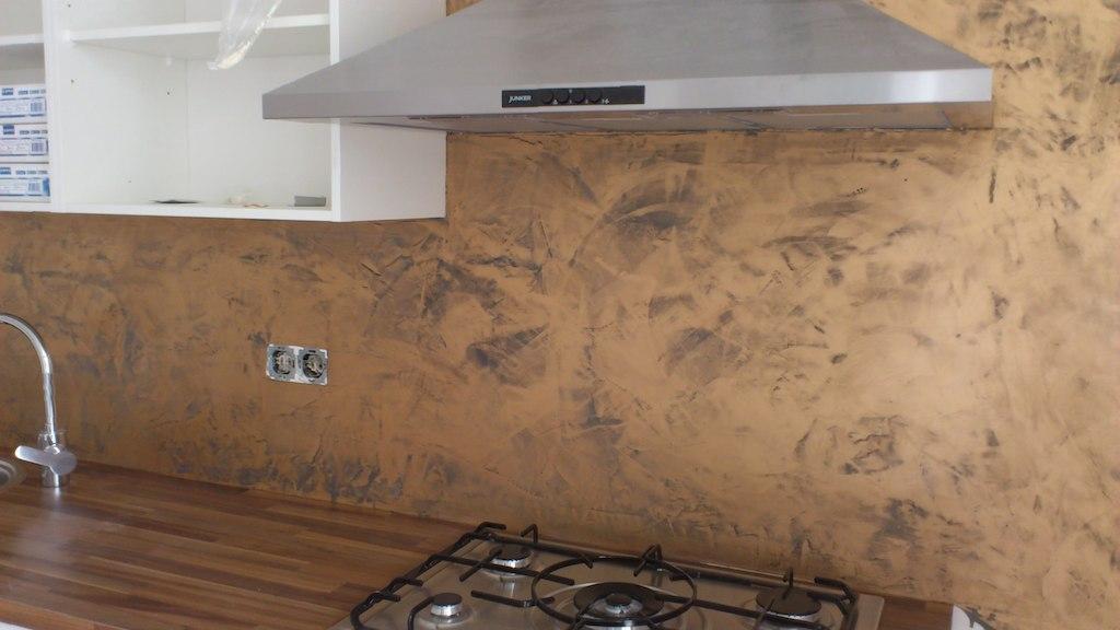 Beton Cire Als Achterwand Keuken : Keuken Frescolori – Stukadoorsbedrijf van der Windt