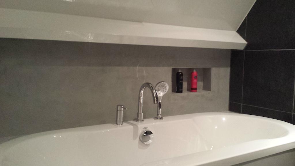 Beton badkamer onderhoud - Betonnen badkamer ...
