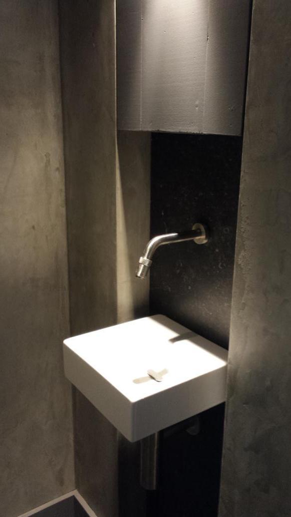 Badkamer cementstuc badkamer ontwerp idee n voor uw huis samen met meubels die het - Badkamer deco ideeen ...